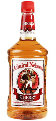 Admiral Nelson's Rum Cherry Spiced